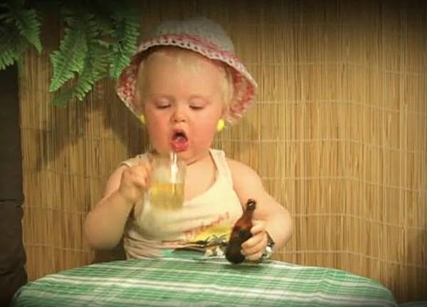 baby 10 dagen verkouden