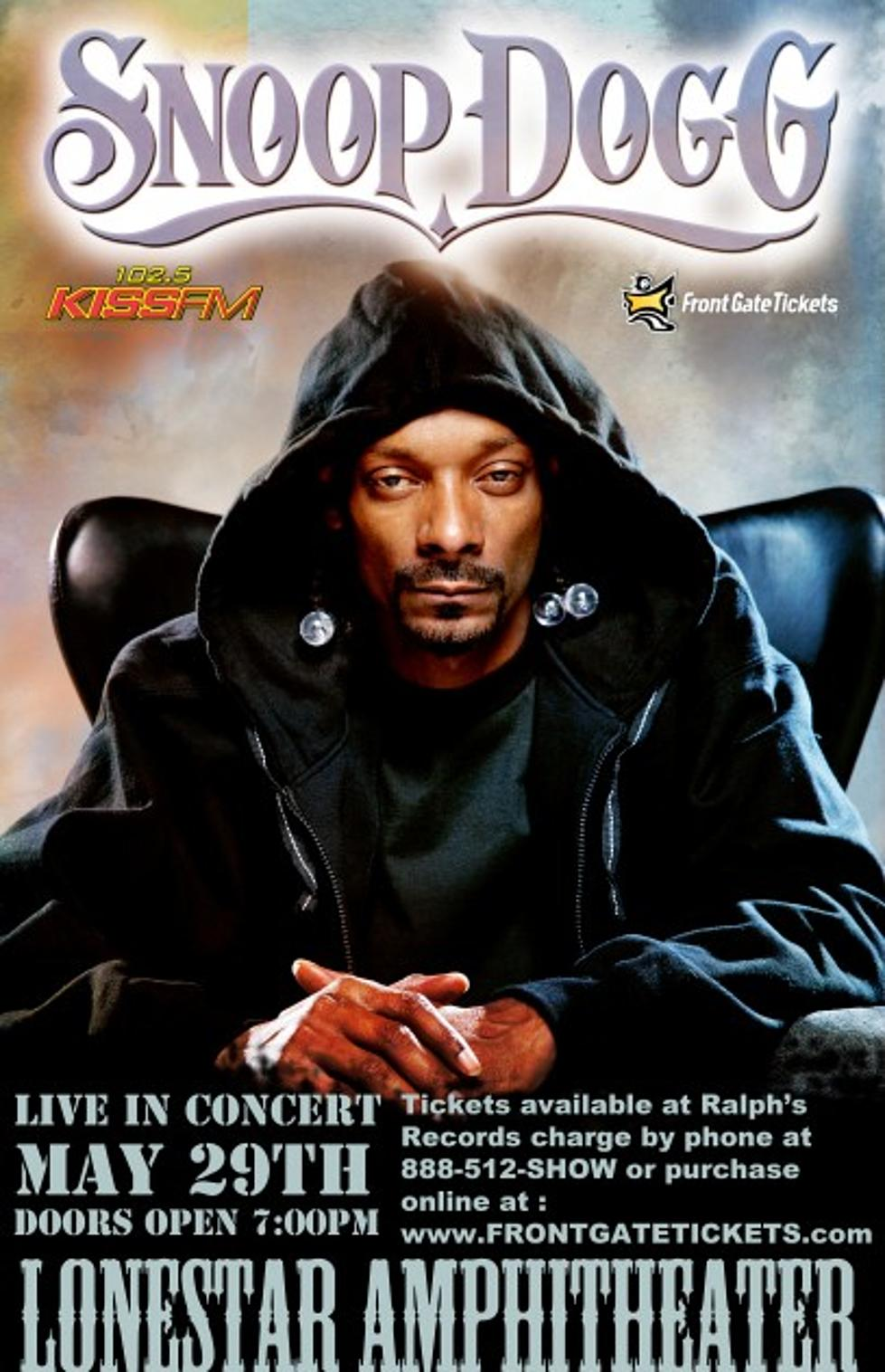 Kiss Fm Presents Snoop Dogg Back In Lubbock May 30th Video