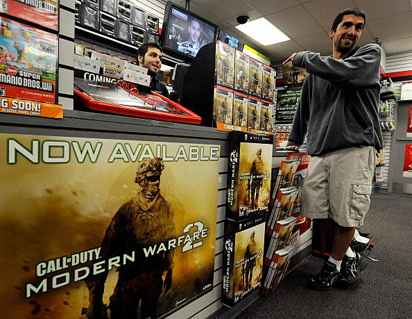 Midnight Release Of New Call Of Duty Game Draws Crowds Of Gamers
