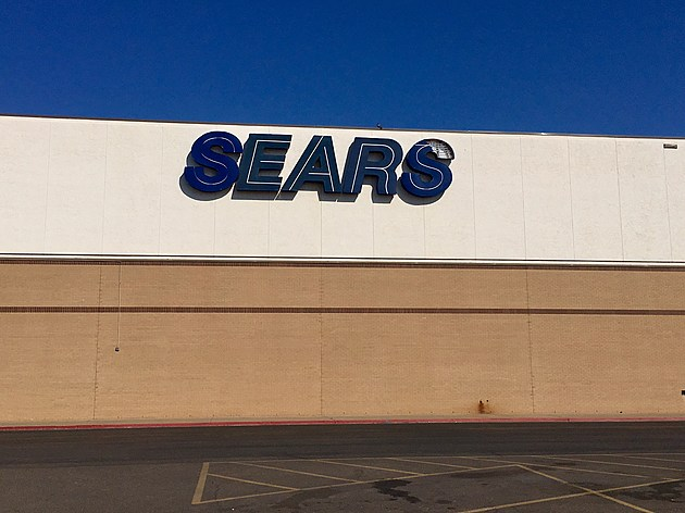 Sears at the South Plains Mall in Lubbock, Texas