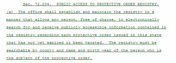excerpt from House Bill 2315