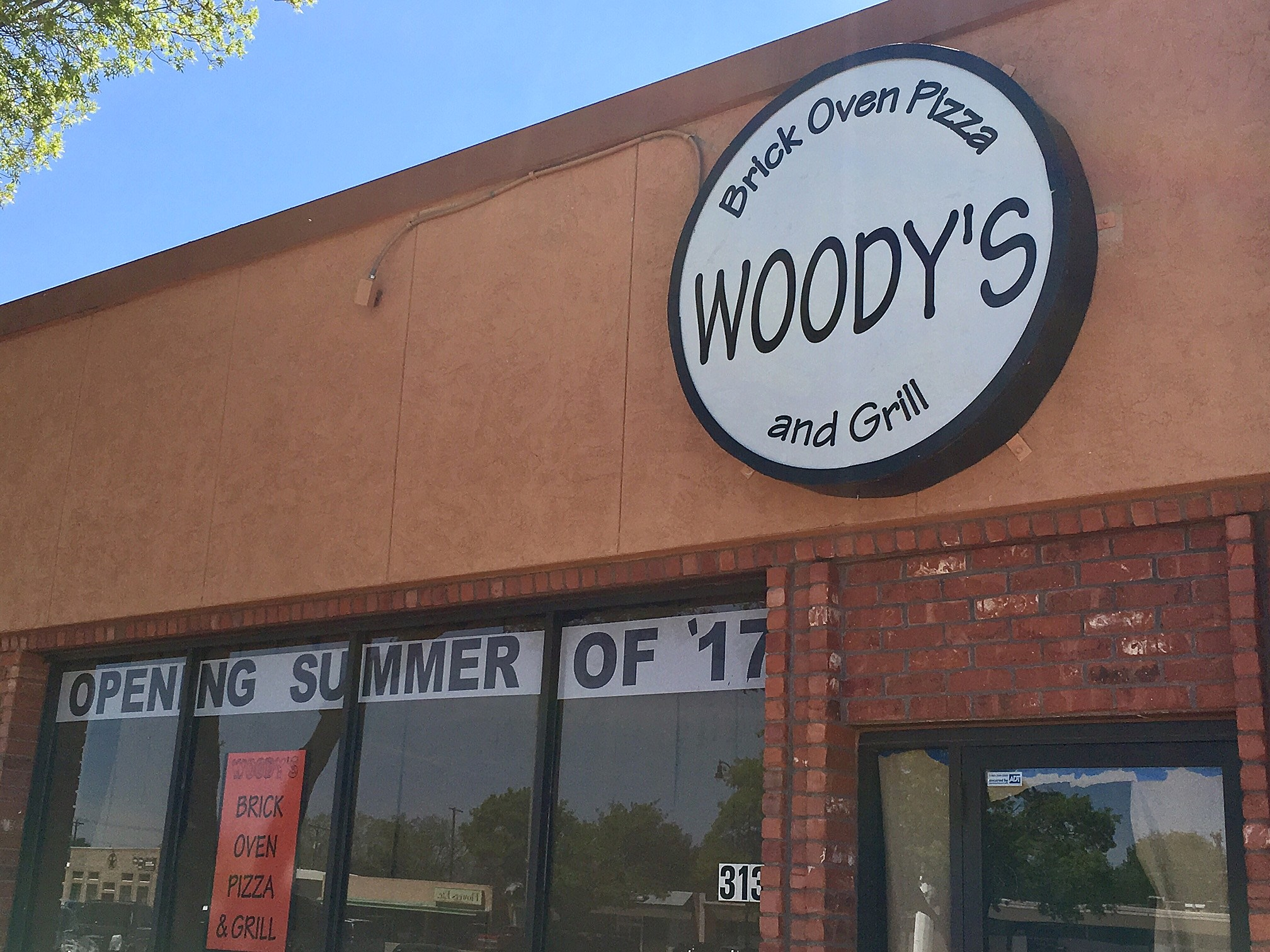 Woody's pizza in Lubbock, Texas