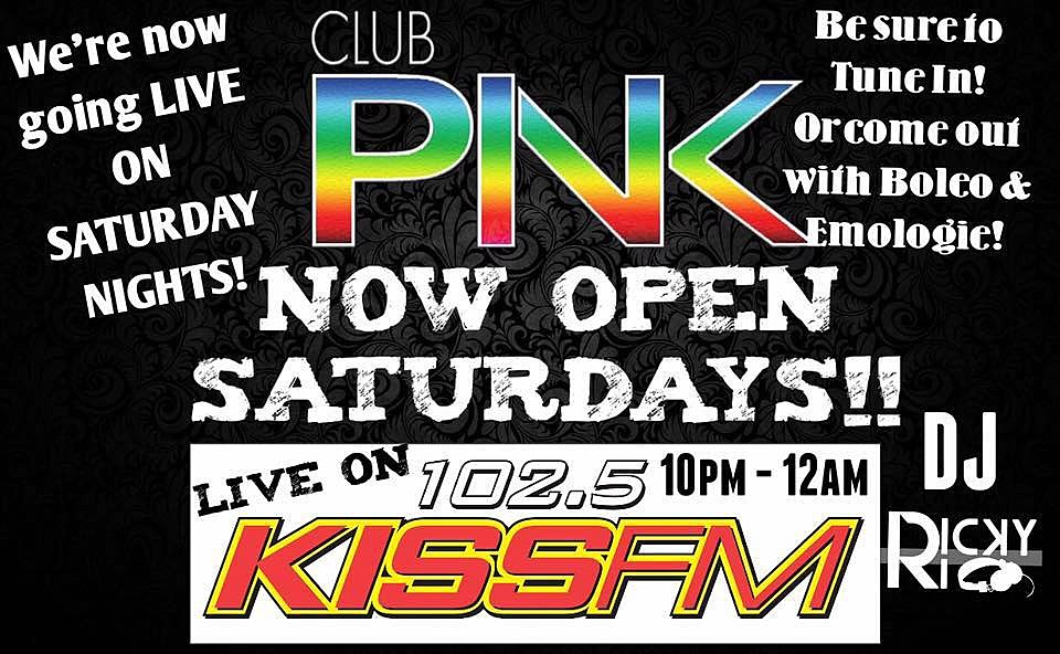 Credit: Club Pink/102.5 KISS FM