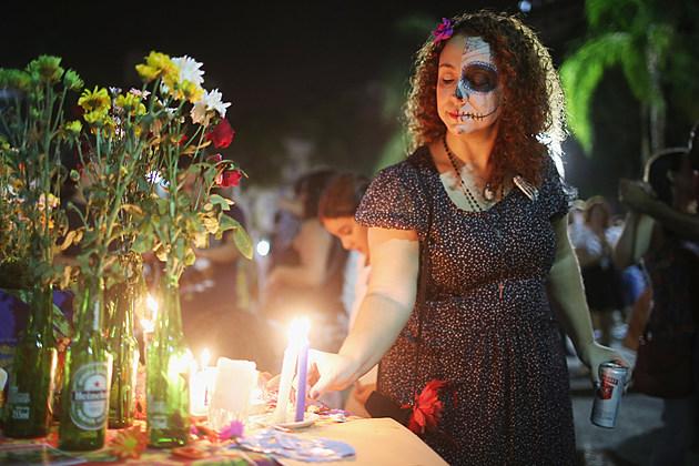 Rio Celebrates Dia De Muertos